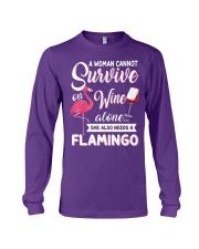 Flamingo Shirt Long Sleeve Tee thumbnail
