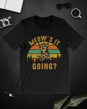 Meows It Going Classic T-Shirt lifestyle-mens-crewneck-front-16