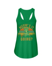 Meows It Going Ladies Flowy Tank tile
