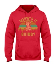 Meows It Going Hooded Sweatshirt thumbnail