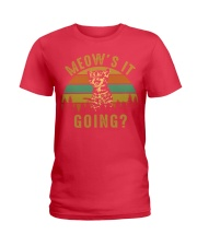 Meows It Going Ladies T-Shirt tile