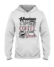 Happiness Is A Cup Of Coffee Hooded Sweatshirt tile