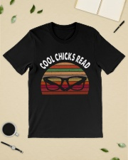Cool chicks read  Classic T-Shirt lifestyle-mens-crewneck-front-19