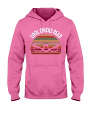 Cool chicks read  Hooded Sweatshirt thumbnail
