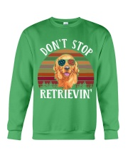 Dont Stop Retrieving Crewneck Sweatshirt thumbnail