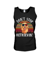 Dont Stop Retrieving Unisex Tank thumbnail