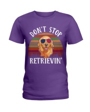 Dont Stop Retrieving Ladies T-Shirt thumbnail