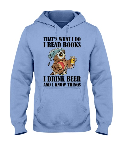 That's what i do i read books i drink beer