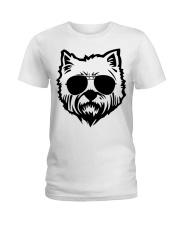 Cute Cairn Terrier Ladies T-Shirt tile
