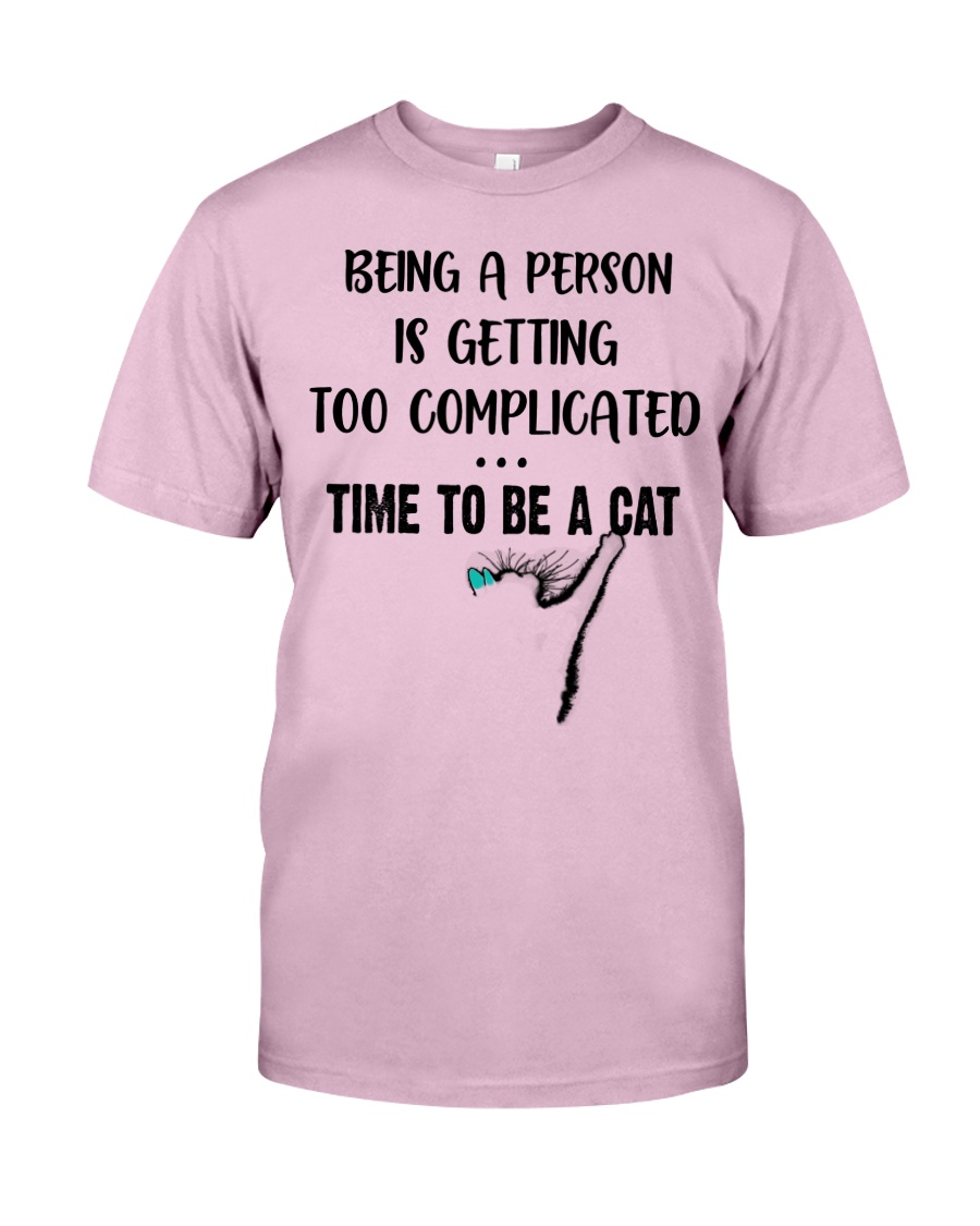 Time to be a cat Classic T-Shirt