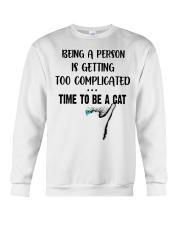 Time to be a cat Crewneck Sweatshirt thumbnail