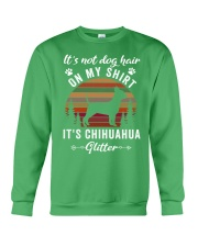 Not Dog Hair Chihuahua Crewneck Sweatshirt thumbnail