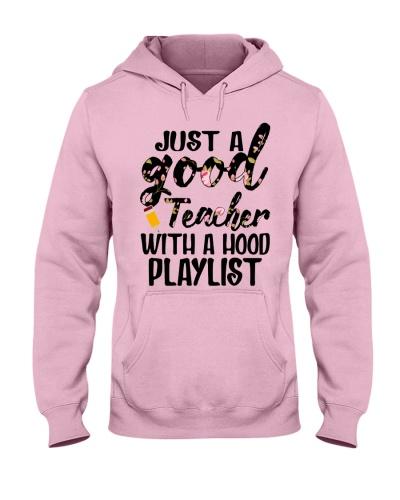 Just a good Teacher with a hood playlist