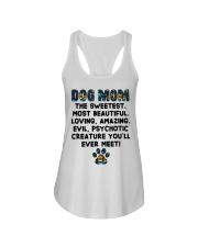 Dog Mom The Sweetest Most Beautiful Ladies Flowy Tank thumbnail