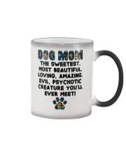 Dog Mom The Sweetest Most Beautiful Color Changing Mug thumbnail