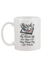 Books Are Not My Whole Life Mug back