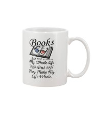 Books Are Not My Whole Life Mug front