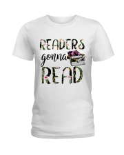 Readers Gonna Read Ladies T-Shirt tile