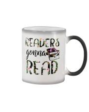 Readers Gonna Read Color Changing Mug tile