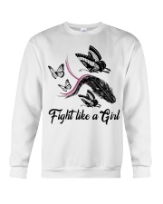 Fight Like A Girl Crewneck Sweatshirt thumbnail