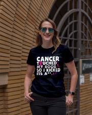 Cancer Touched My Boob Premium Fit Ladies Tee lifestyle-women-crewneck-front-2