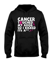 Cancer Touched My Boob Hooded Sweatshirt thumbnail