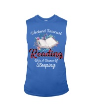 Reading With A Chance Of Sleeping Sleeveless Tee thumbnail