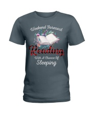 Reading With A Chance Of Sleeping Ladies T-Shirt thumbnail