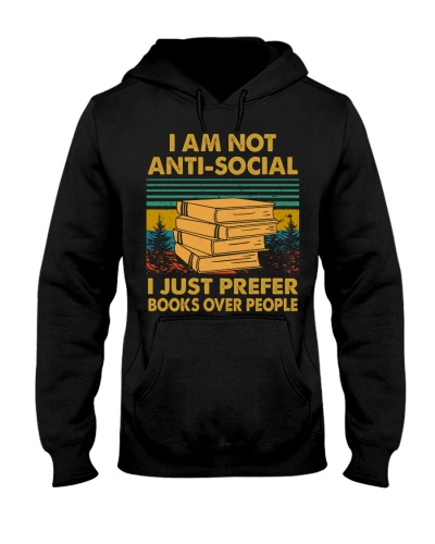 I am not anti-social i just prefer books over