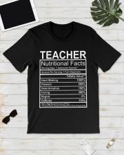 Teacher Nutritional Facts Classic T-Shirt lifestyle-mens-crewneck-front-17