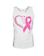 I wear pink for my angel in heaven Unisex Tank tile