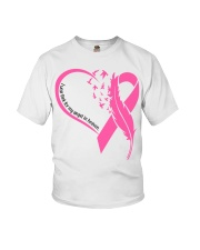 I wear pink for my angel in heaven Youth T-Shirt tile