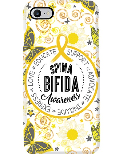 Case smartphone spina bifida