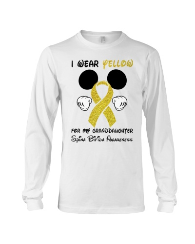 I wear yellow for granddaughter