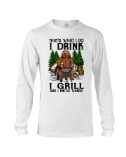I Grill And I Know Things Long Sleeve Tee thumbnail