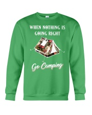 When Nothing Is Going Right Crewneck Sweatshirt thumbnail