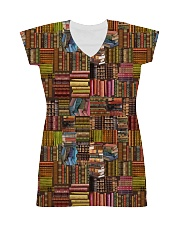 Book Lover all-over shirt All-over Dress thumbnail