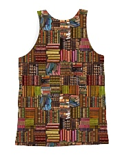 Book Lover all-over shirt All-over Unisex Tank back