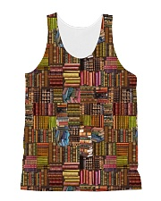 Book Lover all-over shirt All-over Unisex Tank front