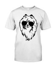 Cute Pomeranian Classic T-Shirt tile