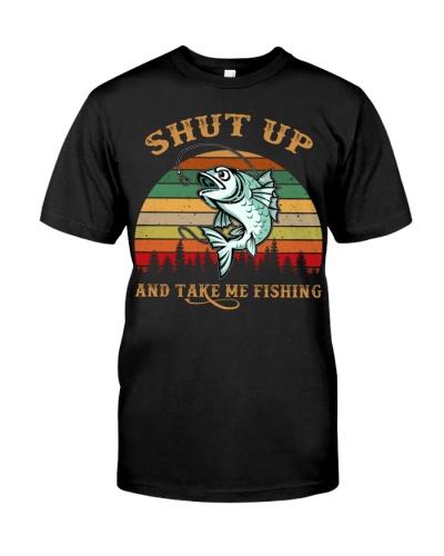Shut up and take me fishing