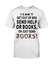 Just send books Classic T-Shirt front