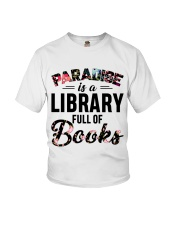 Paradise Is A Library Full Of Books Youth T-Shirt thumbnail