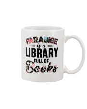 Paradise Is A Library Full Of Books Mug thumbnail