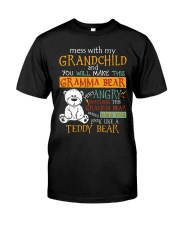 Mess with my grandchild Classic T-Shirt tile