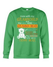 Mess with my grandchild Crewneck Sweatshirt thumbnail