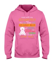 Mess with my grandchild Hooded Sweatshirt tile