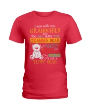 Mess with my grandchild Ladies T-Shirt thumbnail