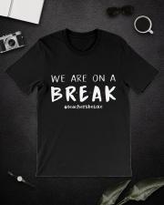 Teachers On A Break Classic T-Shirt lifestyle-mens-crewneck-front-16