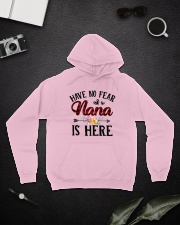 Have No Fear Nana Is Here Hooded Sweatshirt lifestyle-unisex-hoodie-front-9